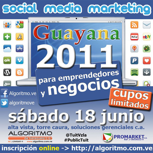 Social Media Workshop este Sábado 18 de Junio, 2011